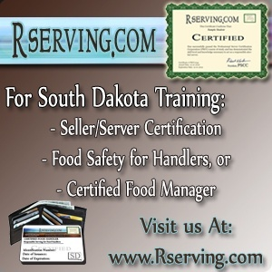 South Dakota Bartender License online course